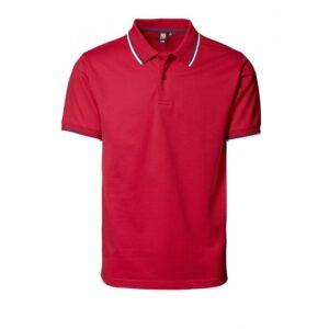 Pique Poloshirt / Kontrast