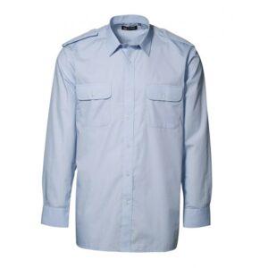 Pilotskjorte Langærmet