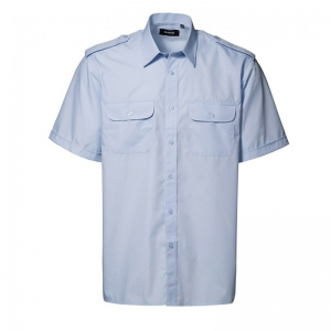 Pilotskjorte Kortærmet